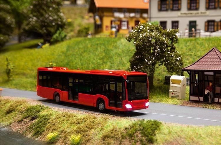 Bus met verlichting Car Sytem digitaal