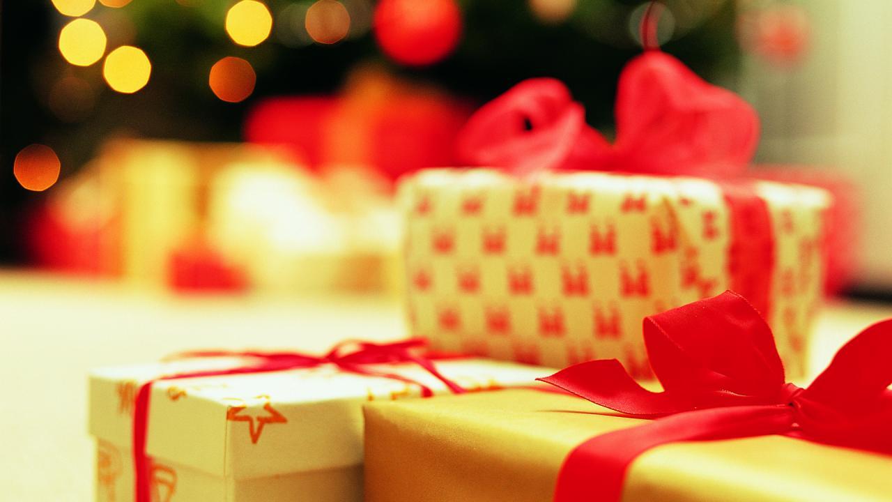 Faller kerst cadeaus