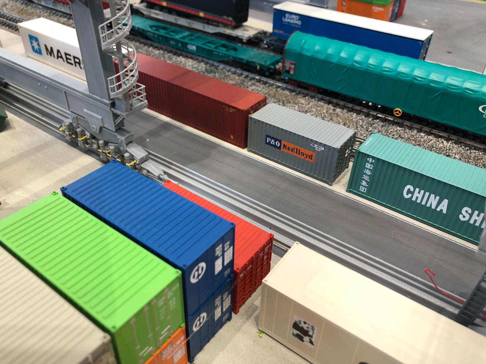 Rails containerterminal Faller